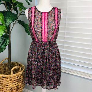 NWT ANNABELLE FLORAL FUSIA DRESS/TOP